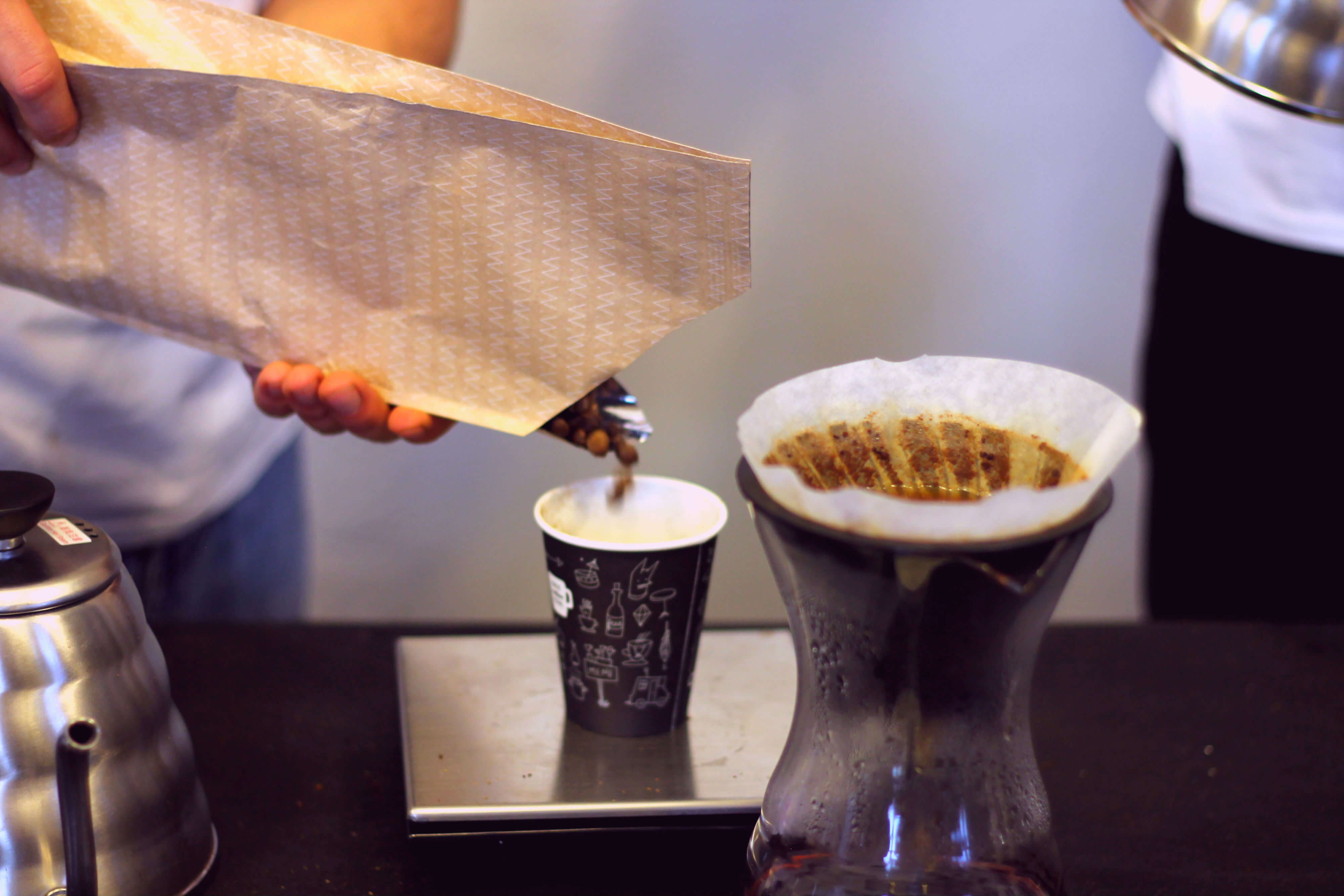 Prague Coffee Festival filtrovaná káva