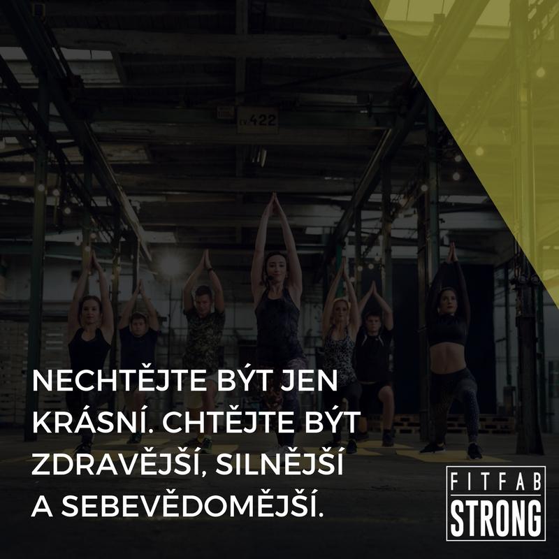 fitness motivace joga