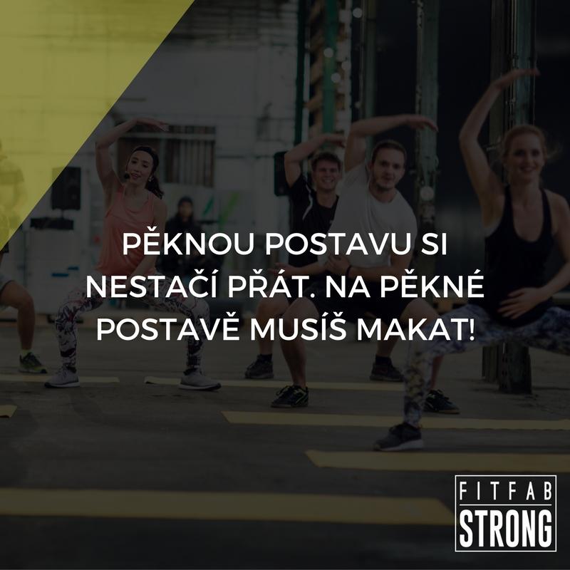 fitness motivace pekna postava