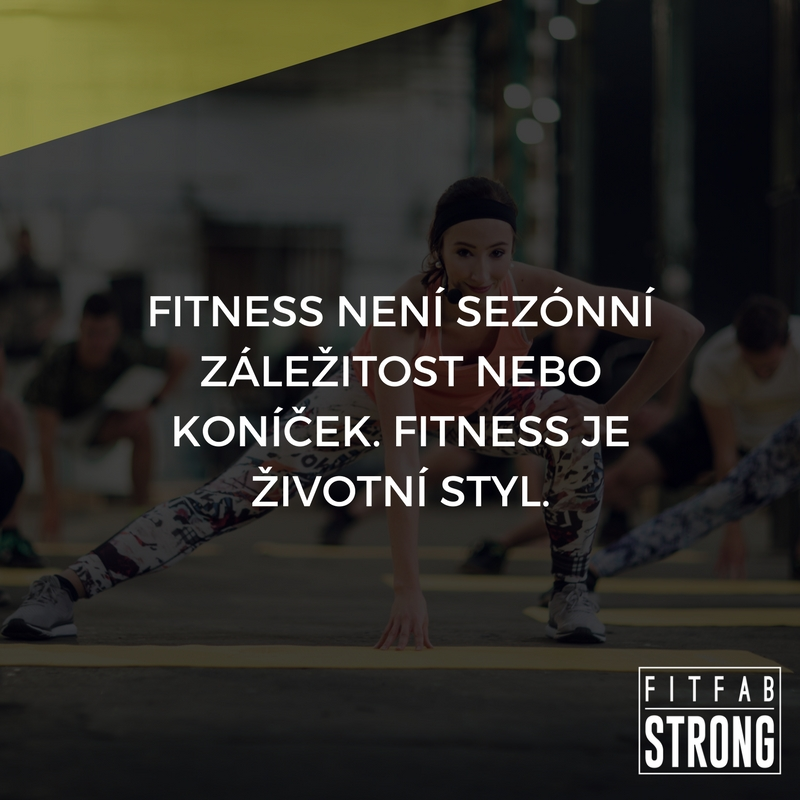fitness motivace zivotni styl