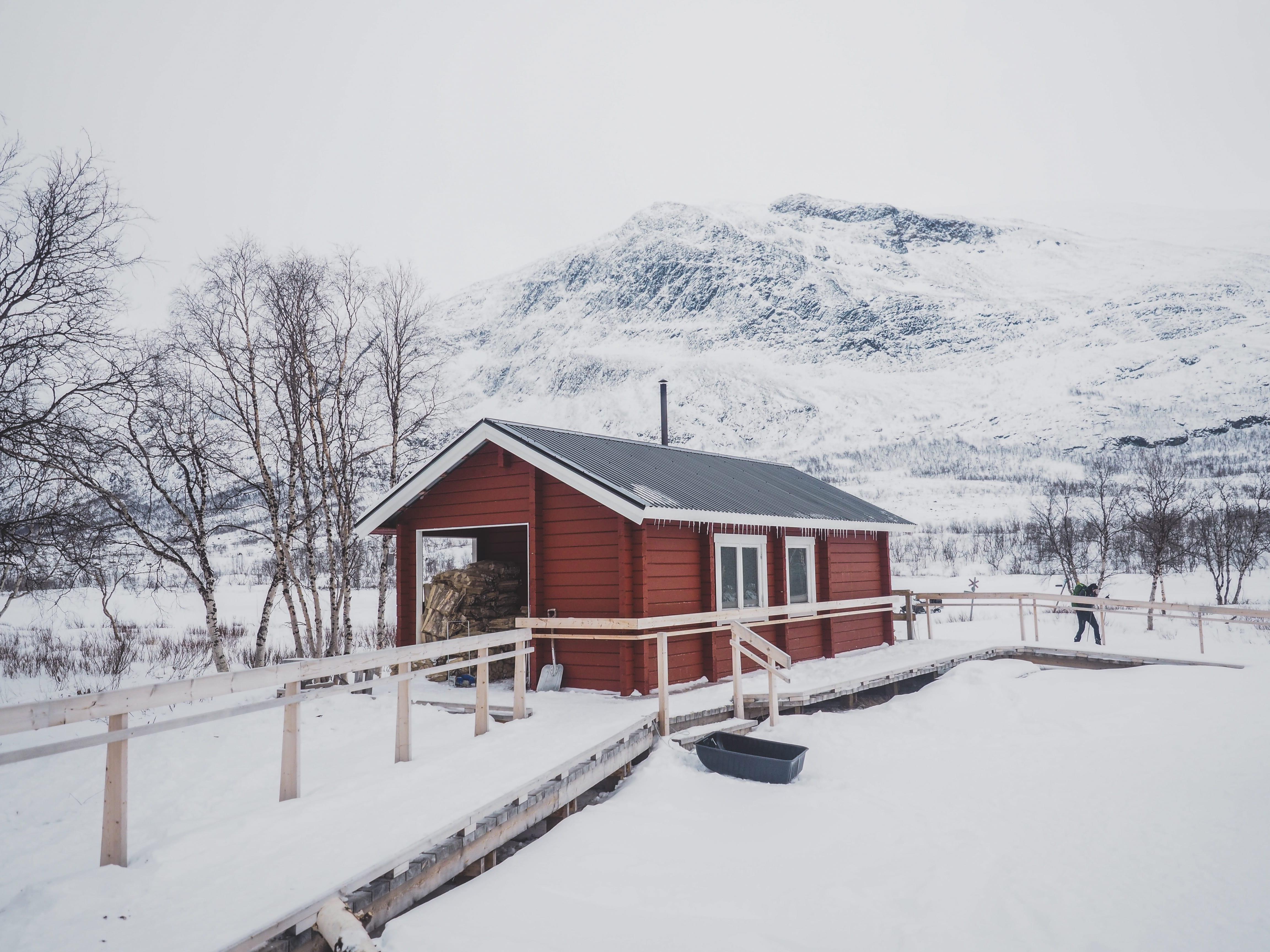 Kungsleden sauna